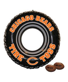 Love this Chicago Bears Tire Toss Set by Fremont Die Consumer Products on #zulily! #zulilyfinds
