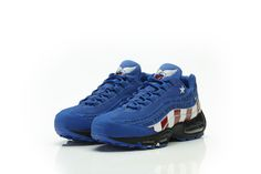 new product c79cd c7675 A Doernbecher x Nike Air Max 95 Captain America release date to announced.  The revered 2007 release from the Doernbecher Freestyle Collection, with  blue .