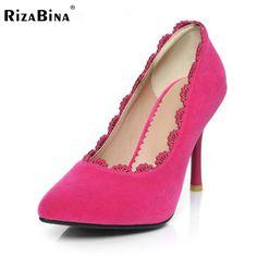 free shipping high heel shoes platform women sexy footwear fashion pumps P12425 EUR size 32-43 #Affiliate