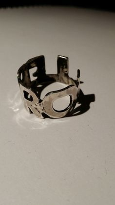 By Mikael Brolin 2013 12-08. A BROLLE (Brolin) ring silver
