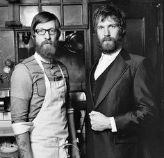 Nuestras barbas favoritas de Nueva York.  Mast Brothers.  http://mastbrothers.com/