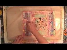 I just felt like painting paper today - YouTube