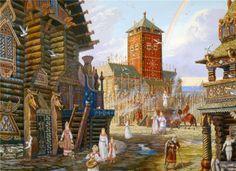 Tęcza nad Arkoną (Raduga, czyli Denga) - W.Iwanow