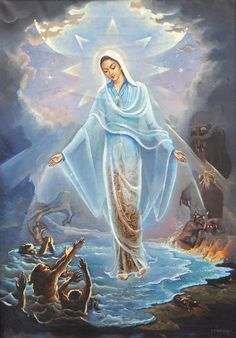 Catholic Prayers, Catholic Art, Catholic Quotes, Santa Maria, House Of Gold, Jesus Christus, Queen Of Heaven, Religious Pictures, Royal Academy Of Arts