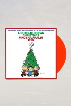 Vince Guaraldi Trio - A Charlie Brown Christmas LP. I have the biggest soft spot for anything Peanuts. Snoopy is my homie.
