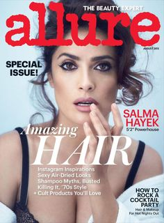 Salma Hayek Topless in Allure Magazine | The Blemish