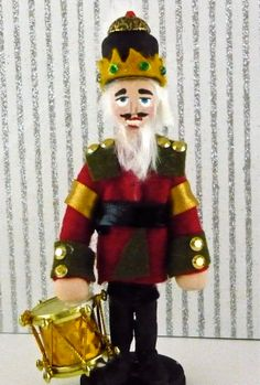 Nutcracker Wooden Christmas