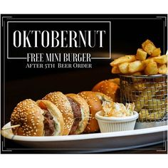 Would you like these mini yummie #munchies for #FREE? You got em! 🍻🍻🍺=🍔🍔🍔🍟 #oktoberfest #oktobernut #promotion #free #burger #foodporn #pictureperfect #yummy #amman #publife #beer  Yummery - best recipes. Follow Us! #foodporn