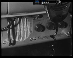 An AWA MR-6A Carphone Junior from the Aussie cop drama Homicide. This radio was the mainstay of the Victorian police force in the early to mid 1960's and used the callsign VKC and in those days they only had 6 simplex channels in the VHF high band on 168MHz.