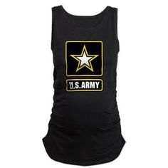 US Army #Maternity Tank Top #UnitedStatesArmy #Army  #SupportourTroops  #ArmyStrong #SupportourMilitary #USA Lots of products  For this design click here --  http://www.cafepress.com/dd/97172155