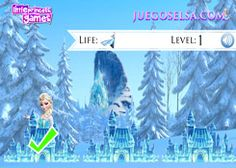 JuegosElsa.com - Juego: Dónde está Elsa? - Minijuegos de la Princesa Elsa Frozen Disney Jugar Gratis Online