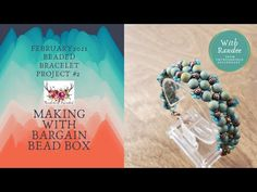 Making a Beaded Bracelet with February 2021 Bargain Bead Box and Randee from Thunderhorse Descendant - YouTube Beaded Boxes, Weaving Patterns, Descendants, Bead Weaving, The Creator, My Etsy Shop, Beaded Bracelets, Beads, Projects