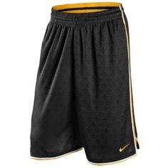 Nike Kobe Essential Short - Men's - Basketball - Clothing - Black/White/University Gold