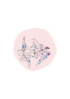 dibujo para cojin de 40 x 40 cm en algodón blanco y tela de lino