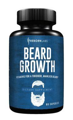 Beard Oils: Beard Growth Supplement with Vitamins. Bald Spot Treatment, Vitamins For Beard Growth, Beard Growth Kit, Best Beard Oil, Thick Beard, Black Men Beards, Beard Styles For Men, Beard Grooming, Hair Growth Oil