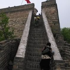#Mutianyu Great Wall islocated in the #Huairou District in Beijing, about 73 kilometers away fromdowntown Beijing. It was built on the ruins of the Beiqi Great Wall under thesupervise of the General Xu Da in the early age of Ming Dynasty.