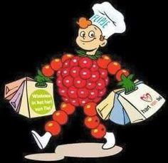 Flipje, het fruitbaasje van Tiel.