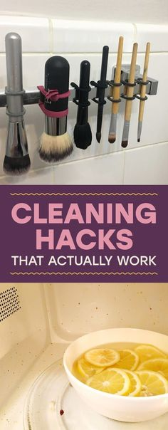 14 Cleaning Hacks We Know Actually Work Because We Tried Them