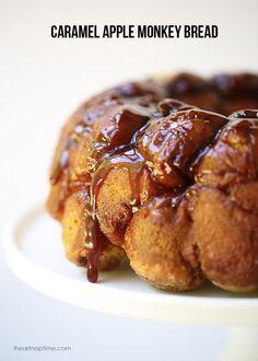 Carmel Apple Monkey Bread - bjl