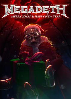 Megadeth Christmas Card 2014 Contest Winners   Megadeth.com