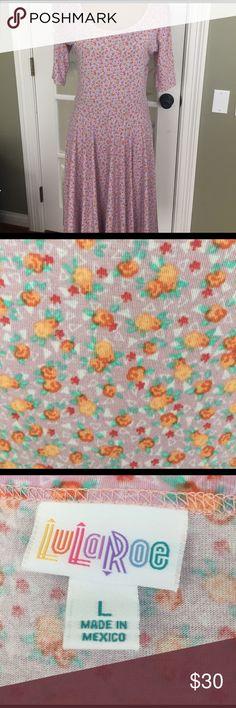 LuLaRoe Nicole dress Super pretty floral LuLaRoe Dresses