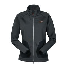 Musto Zara Phillips DWR Zip Thru Sweatshirt.  Polyester jersey outer bonded to polyester fleece with a DWR (Durable Water Repellent) finish. Features Elastane bound cuffs for closer fit, secure zipped front pockets, scooped rear hem for lower back cover in the saddle & 2 way zip with reflective tape detail. Machine washable at 30°. Available in Carbon or Navy. £85.00.