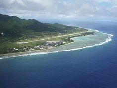 Rarotonga Airport in the South Pacific's Cook Islands