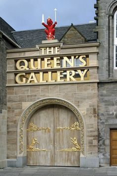 The exterior of The Queen's Gallery, Palace of Holyroodhouse,