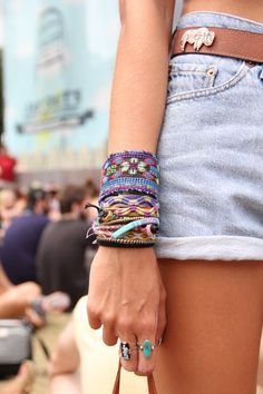 Festival style.