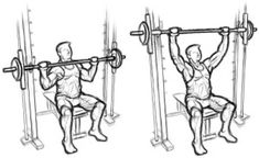 Superset 2 Incline Dumbbell Press 4 Sets Of 8 Reps Week