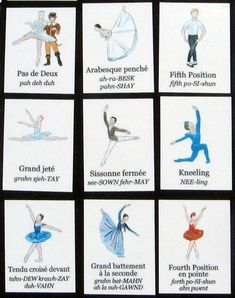 as seen in Dance Magazine & Dance Teacher Magazine The perfect game for a ballet-themed birthday party or summer camp! Every full-color laminated playing ca