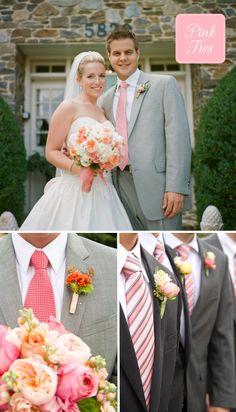 groom: #wedding #tie #ideas Wedding Ties, Wedding Groom, Wedding Bells, Groom And Groomsmen Attire, Groom Outfit, Groom Tux, Tux Colors, Perfect Wedding, Dream Wedding