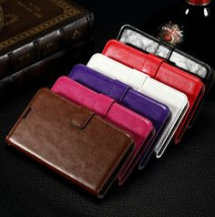 Lumia 640 - Professional Vintage Wallet Case in Assorted Colors