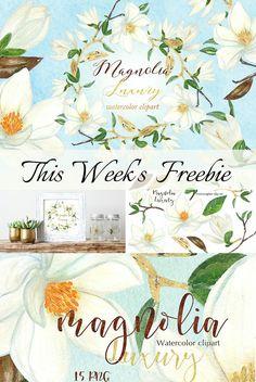 Free floral watercol