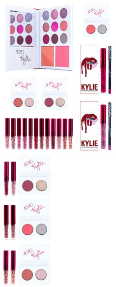 Makeup Sets and Kits: Kylie Cosmetics Valentines Day Limited Edition Collection Mini Kit Lipsticks BUY IT NOW ONLY: $49.0
