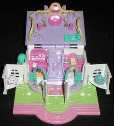 1994 - Polly Pocket Light-up Bridal Salon - Pollyville - Bluebird Toys    aka Polly's Bridal Store    Bluebird Ref. No. 950281
