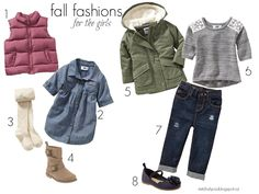Fall Fashion Favorites for the girls. / old navy fashion/ toddler fashion/ toddler trends