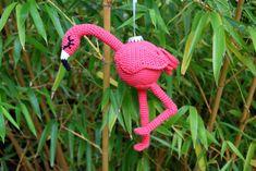Amigurumi Flamingo Free Pattern - Amigurumi Daily Crochet Gratis, Free Crochet, Learn Crochet, Crochet Motifs, Crochet Patterns, Crochet Designs, Crochet Flamingo, Crochet Elephant, Elephant Pattern