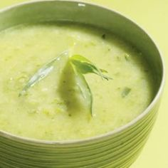 Herbed Zucchini Soup Recipe