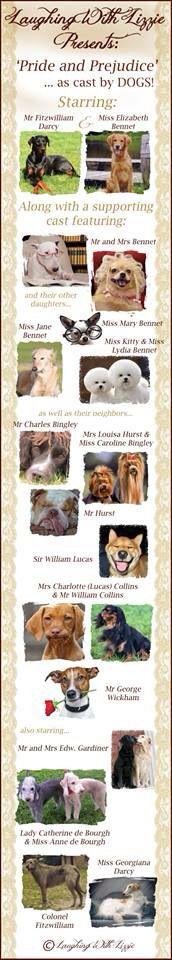 Canine Pride and Prejudice!