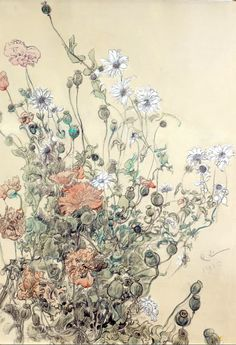 "Carl Larsson 1853‑1919. ""Summer Flowers"""