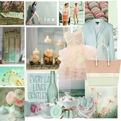 Pastel Green, created by jandefashion