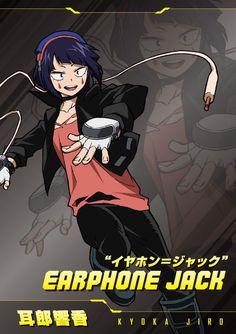 Jirou Kyouka (Koyoka Jiro) - Boku no Hero Academia - Image - Zerochan Anime Image Board Buko No Hero Academia, My Hero Academia Manga, Hero Academia Characters, Anime Characters, Hero Poster, Story Arc, Anime Poses, Precious Children, Roy Mustang