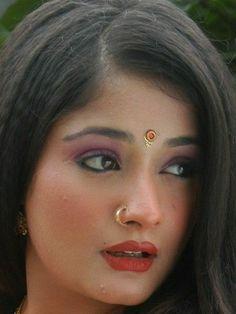 Beautiful Girl In India, Beautiful Girl Image, Most Beautiful Women, Indian Actress Hot Pics, Most Beautiful Indian Actress, Nose Ring Jewelry, Arabian Makeup, Small Nose, Bollywood Girls