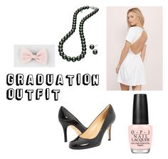 """Graduation Outfit"" by megana7398 on Polyvore featuring Tobi, Kate Spade, Mikimoto, Full Tilt and OPI"