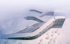 Bjarke Ingels Group-BIG Architects  Hafjell Mountain Hotel Norway 2007