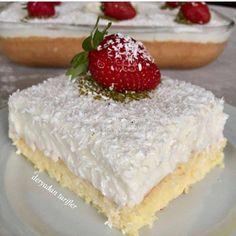 Image may contain: dessert and food Yami Yami, Yummy Food, Tasty, Delicious Recipes, Different Cakes, Pastry Cake, Cake Decorating Tips, Homemade Beauty Products, Cheesecake