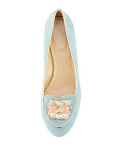 Hello Geminis! These Charlotte Olympia smoking slippers are just for you. 212 872 8947
