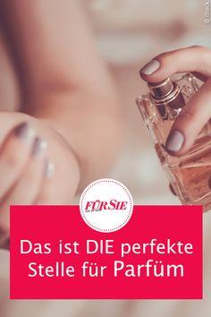 Handgelenk, Dekolletée oder Hals? Halt, stopp! Experten verraten, an welcher überraschenden Körperstelle wir unser Parfüm stattdessen auftragen sollten – für einen optimalen, langanhaltenden Duft. #parfum #beauty #duft #fragrance #tipps #tricks #ratgeber #experten #koerper #fuersiemagazin Tricks, Make Up, Wedding Rings, Engagement Rings, Dieting Tips, Beauty Tutorials, Enagement Rings, Makeup, Anillo De Compromiso