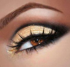 sombras dorada